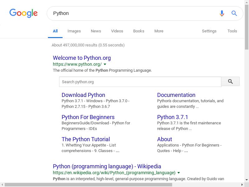 Docker上で、Python + Selenium + Headless Chromeを使用してWEB